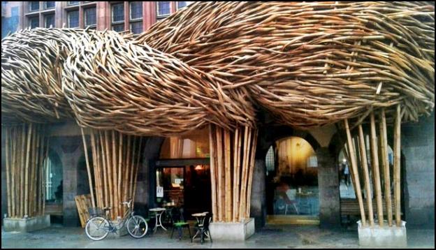 """Bambu Awi Tali Sumedang """"Nampang"""" di Sebuah Pameran di Frankfurt, Jerman"""