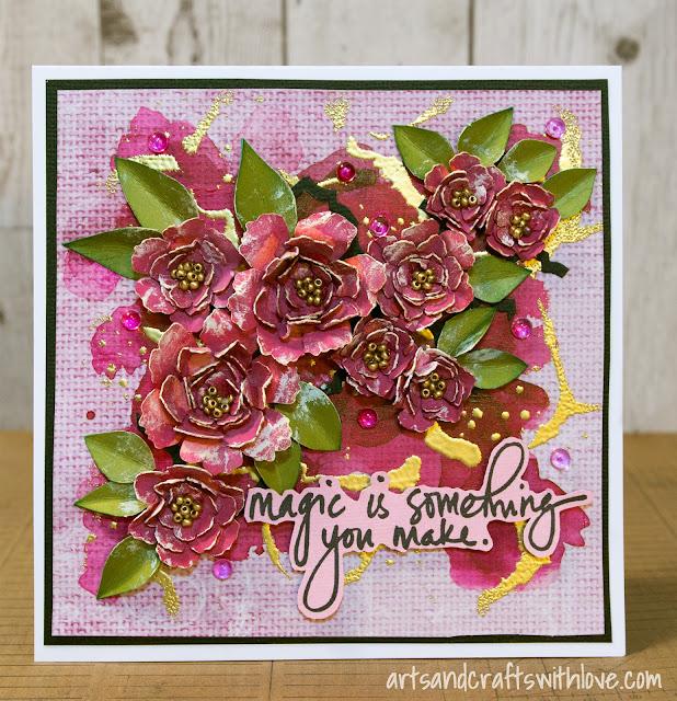 Cardmaking: Flower card