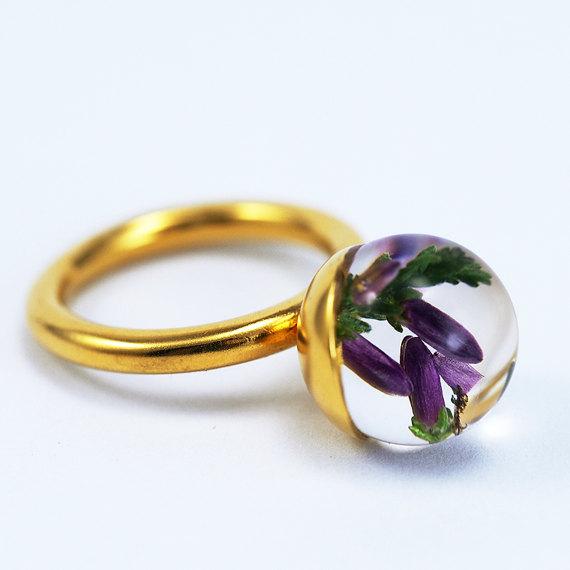 Sylwia Całus, biżuteria z żywicy, polska biżuteria, unikatowy pierścionek, blog o biżuterii
