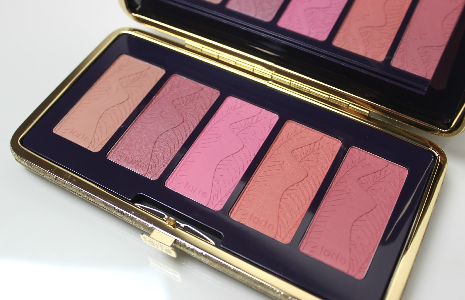 A picture of Tarte Pin Up Girl Amazonian Clay 12-Hour Blush Palette