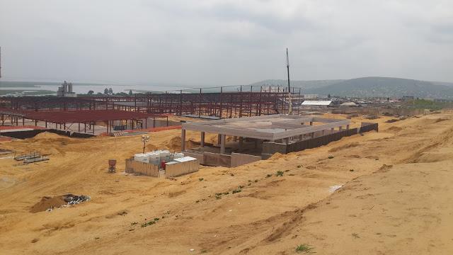 Brazzaville KONGO Şantiye Resimleri