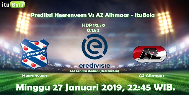 Prediksi Heerenveen Vs AZ Alkmaar - ituBola