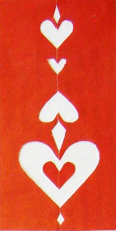 Punainen sydänkortti