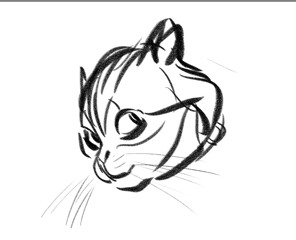 blackwing sketchbook dubious cat Cat PC dubious cat