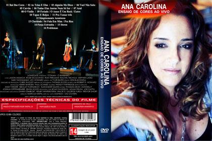 dvd ana carolina ensaio de cores 2012