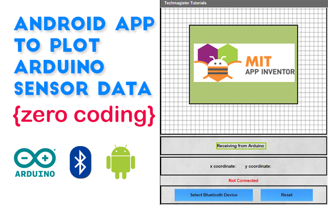 How to develop an Android app to read and plot sensor data