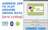 How to develop an Android app to read and plot sensor data from Arduino