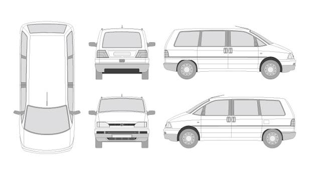 6.000 vehículos en formato vectorial [Gratis][Illustrator]