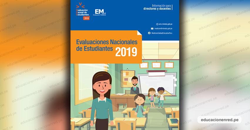 ECE: Guía dirigido a Directores y Docentes para la Evaluación Censal de Estudiantes 2019 (.PDF)