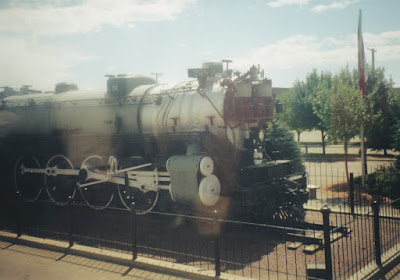 Great Northern S-2 4-8-4 #2584 at Havre, Montana, on July 24, 1999