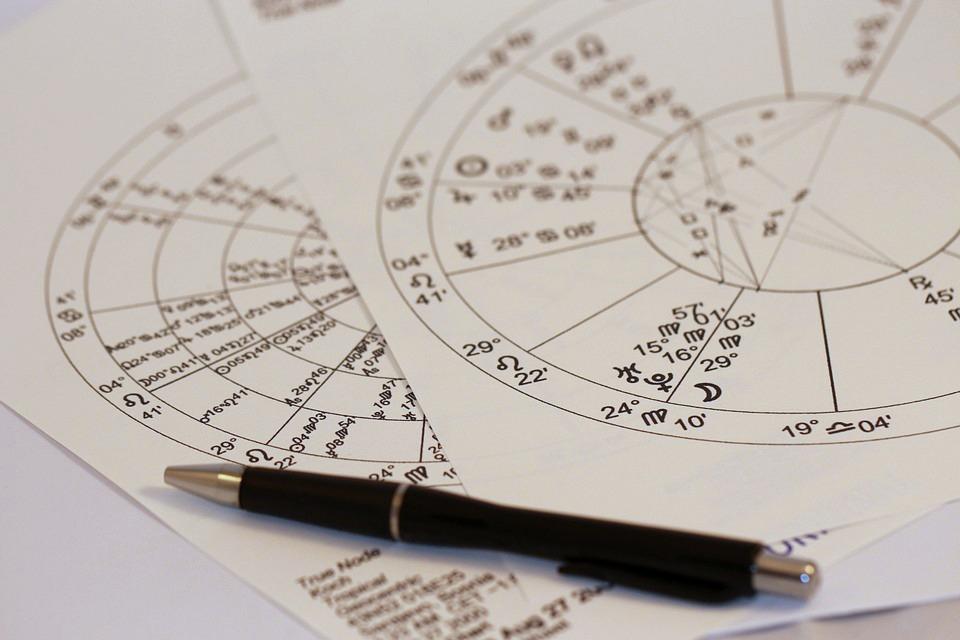 Astrologinen Kartta Ilmainen
