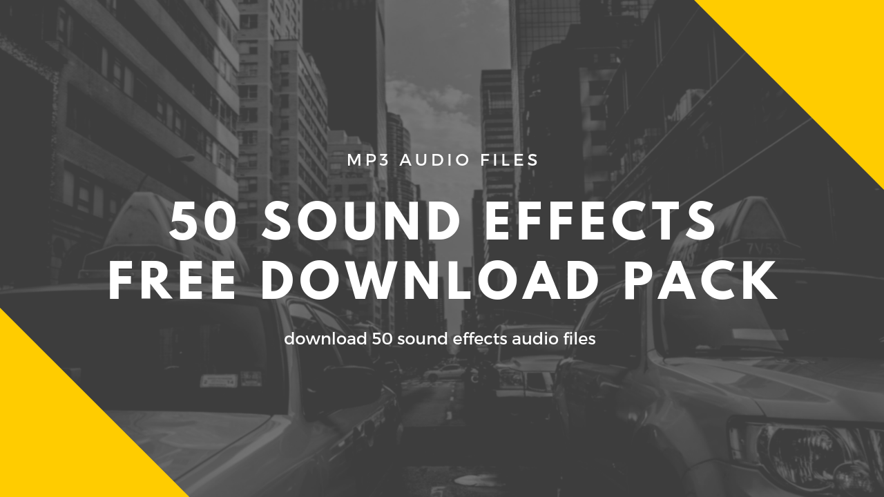 50 mp3 sound effects free download pack