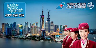 Bay đến Trung Quốc với giá cực rẻ cùng China Southern Airlines