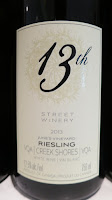 13th Street June's Vineyard Riesling 2013 - VQA Creek Shores, Niagara Peninsula, Ontario, Canada (89 pts)