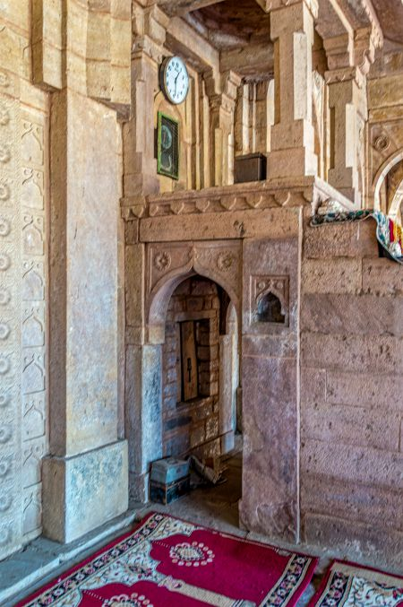 Jama Masjid pillared Prayer hall