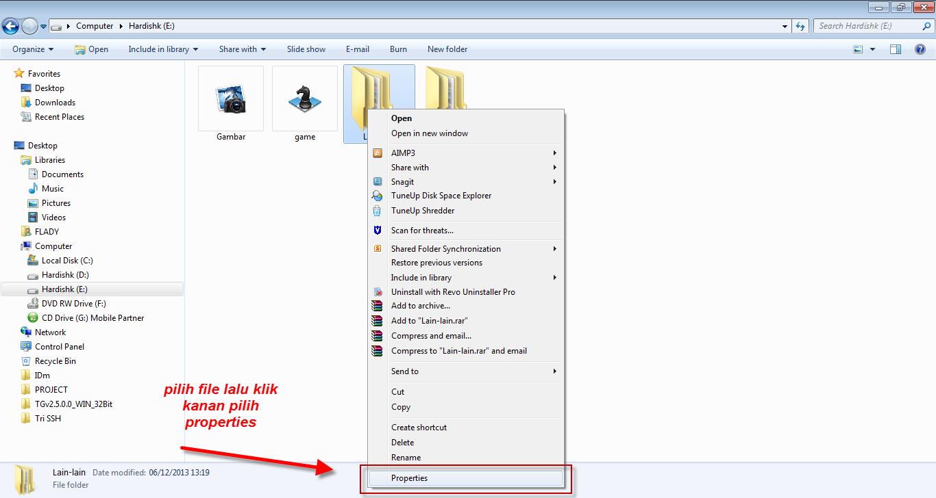 Informasi Manfaat Cara Cepat Mengganti Icon Folder Dengan