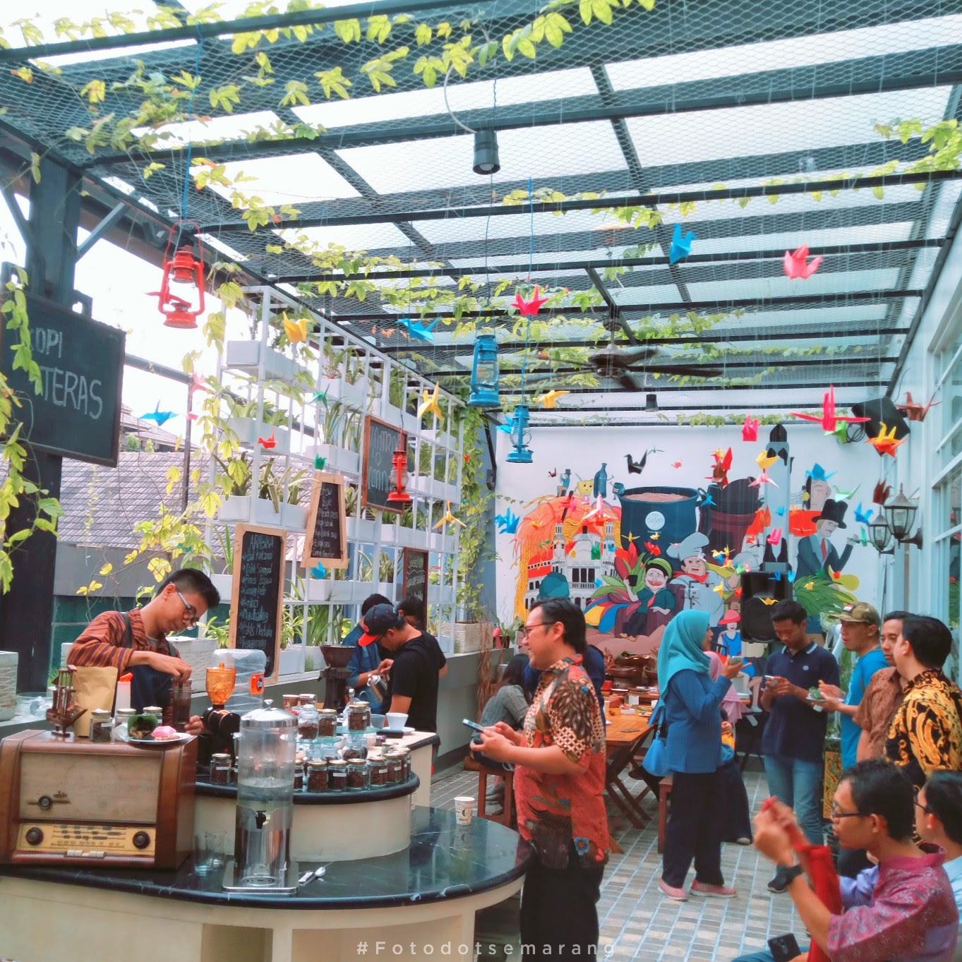 Launching Kopi Teras, Hotel Dafam Semarang Undang Media dan Bloger