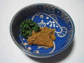 美川町のふぐの卵巣の糠漬の写真です。