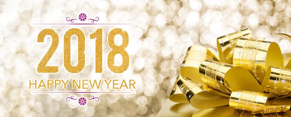 Advanced Happy New Year 2018