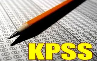KPSS Sınav Optiği ve Kalem Fotoğrafı