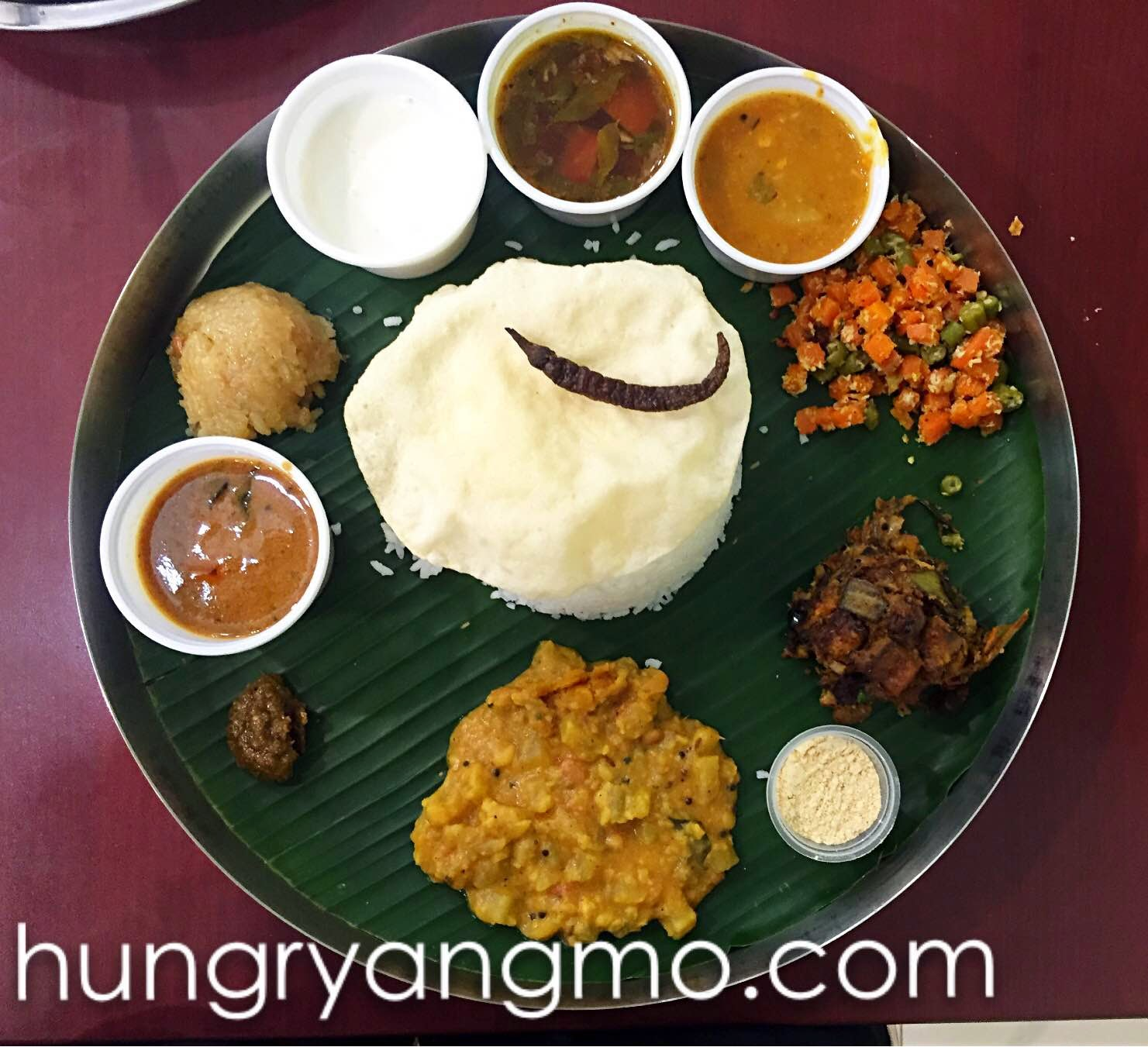 Top 10 indian vegetarian food in singapore hungry ang mo for Andhra cuisine vegetarian