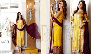 Charizma Gliteratti Luxury Semi Stitched Chiffon 2015 Vol-4