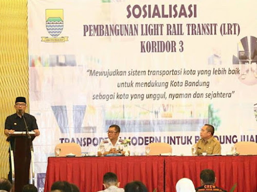 Sosialisasi LRT Kota Bandung Koridor 3