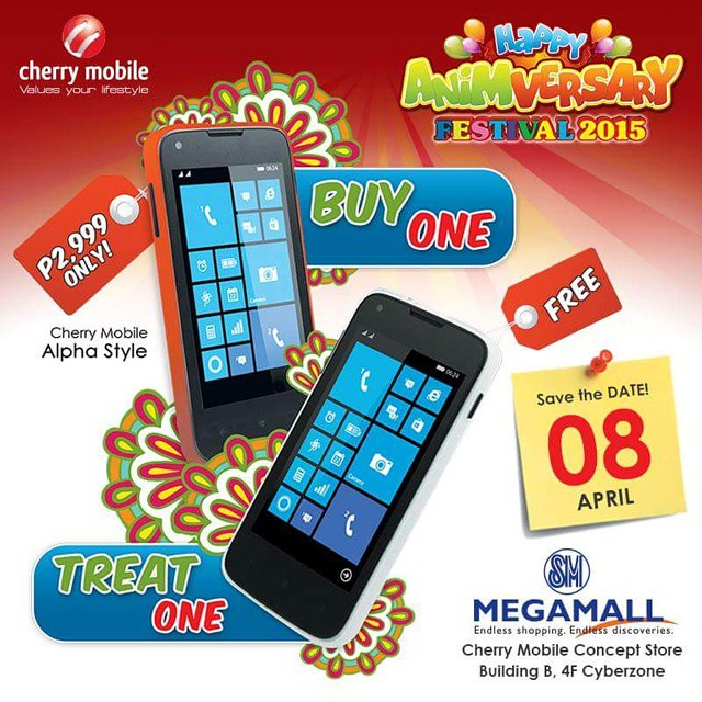 Buy 1, Take 1 deal for the Cherry Mobile Alpha Style