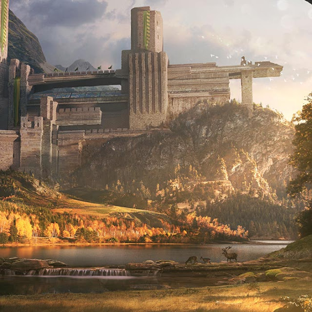 Fantasy Castle Wallpaper Engine