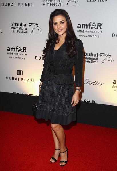 Preity Zinta Latest Photos In Black Dress