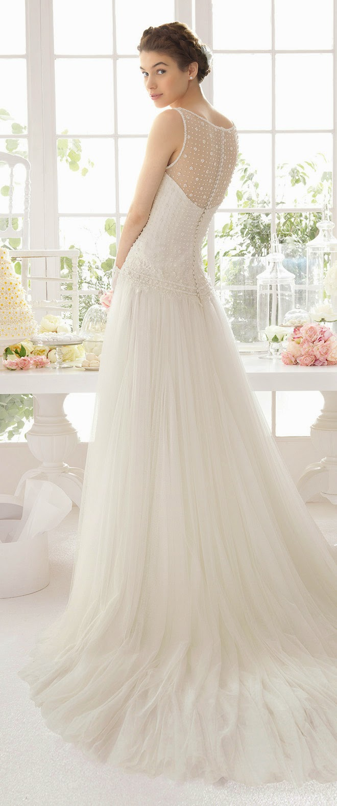 Fifties Wedding Dresses 69 Fancy Please contact Aire Barcelona
