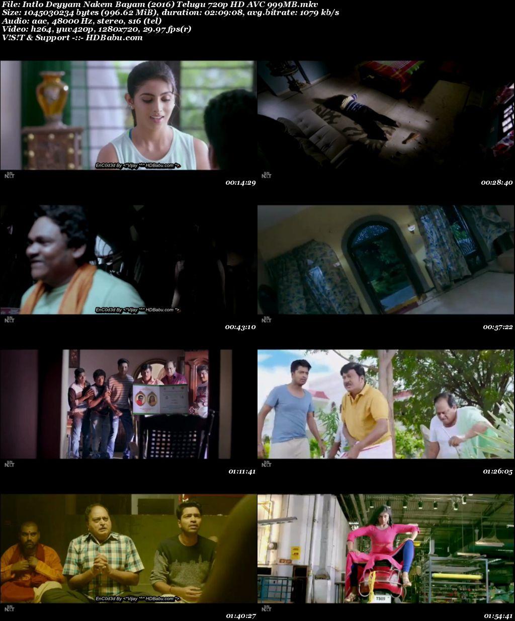 Intlo Deyyam Nakem Bayam Full Movie Download