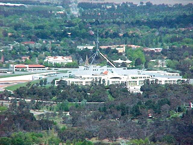 Canberra, capital Australiana