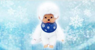 Nouveau Monchhichi Snow - série limitée, exclusivité Fnac - monchchichi blanc - nouveauté 2017