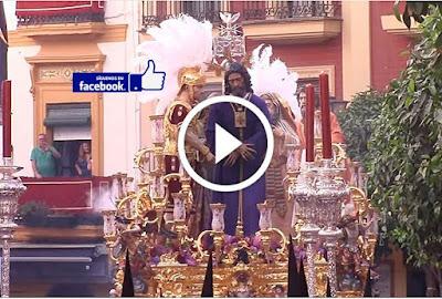 Jesús Cautivo y Rescatado es el Titular de la Hermandad del Poligono de San Pablo que procesiona cada Lunes Santo por las calles de Sevilla durante la Semana Santa y pasa por la cuesta del bacalao a los sones de la banda tres caidas de triana