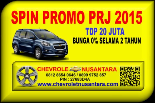Chevrolet Spin Promo Prj 2015 Tdp Murah 20 Juta Chevrolet
