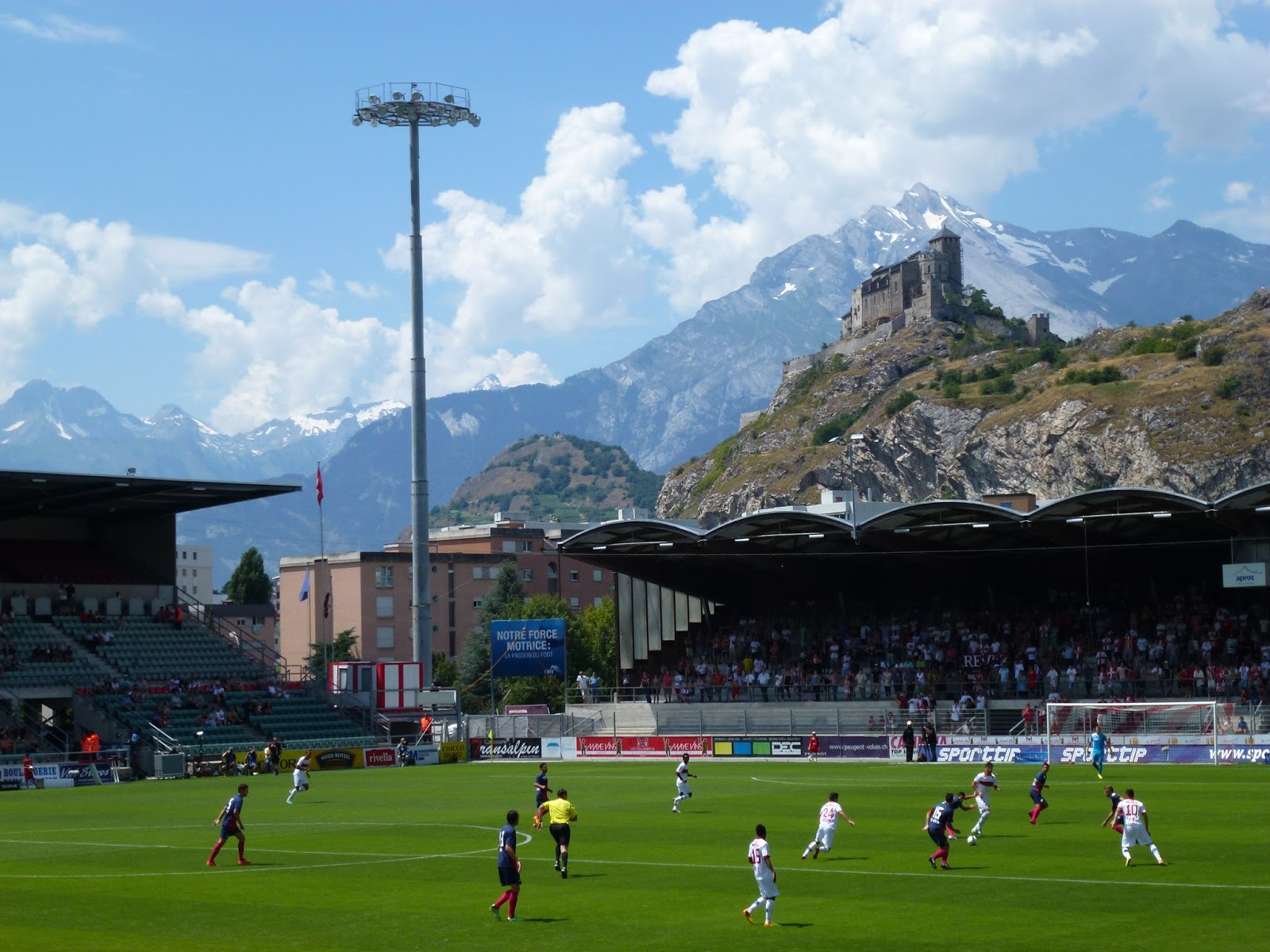 Extreme Football Tourism Switzerland Fc Sion