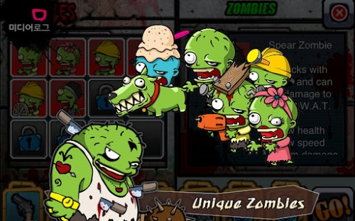 Game Aplikasi SWAT and Zombies