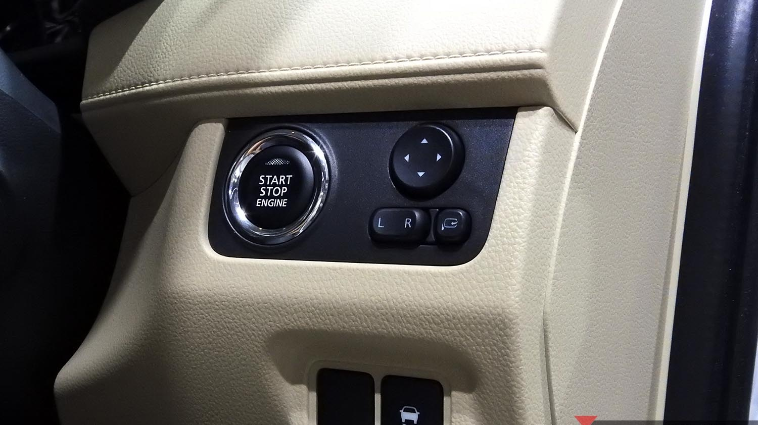 apart from the mentioned smart entry mitsubishi xpander also has a start stop engine button where only xpander has it compared to rivals  [ 1500 x 842 Pixel ]