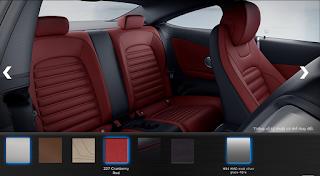 Nội thất Mercedes AMG C43 4MATIC 2018 màu Đỏ Cranberry 227