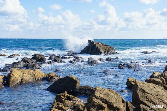 千葉県・野島崎の海岸