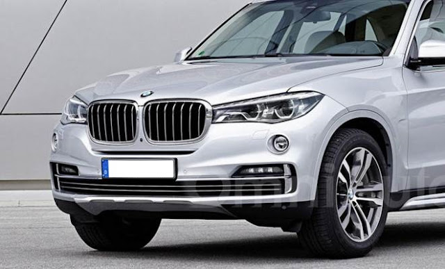 2019 BMW X7 Launched in New Renderings