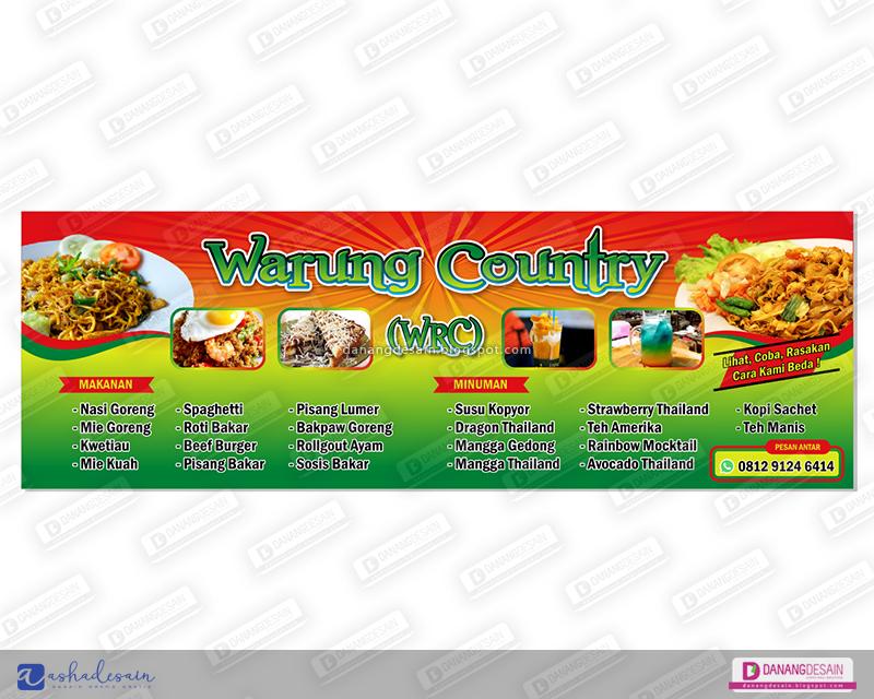 Contoh Desain Spanduk Banner Warung Makan - Contoh Desain ...