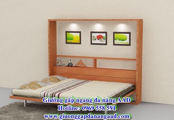 Giường gấp ngang đa năng 1m6 x 2,0m