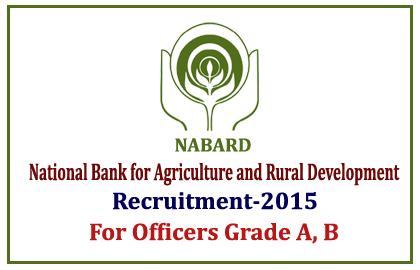NABARD Recruitment 2015