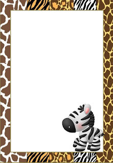 Jungle Babies: Free Printable Frames, Invitations, Cards ...