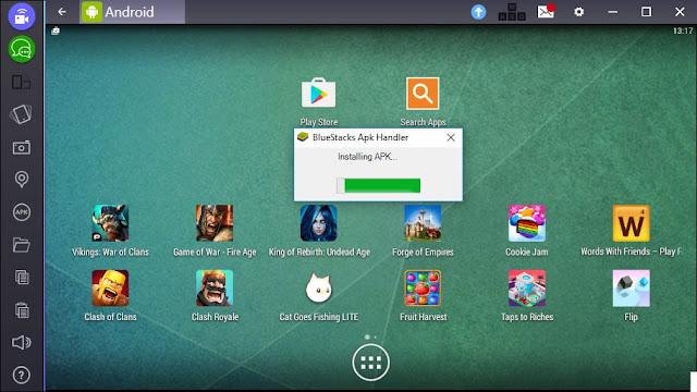 تحميل bluestacks لتشغيل تطبيقات اندرويد على الكمبيوتر