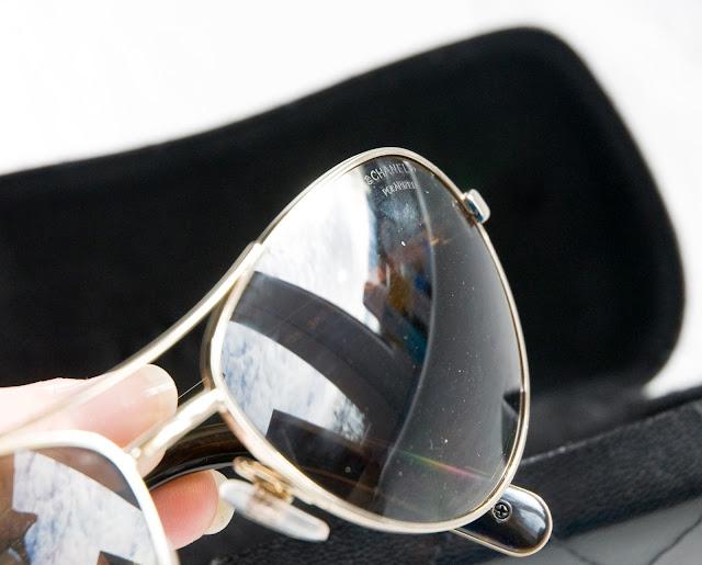soczewki w okularach marki Chanel jak wyglądają?