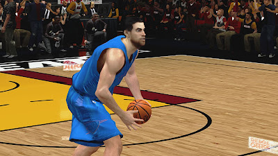 NBA 2K13 OKC Playoffs Nick Collison Player Updates