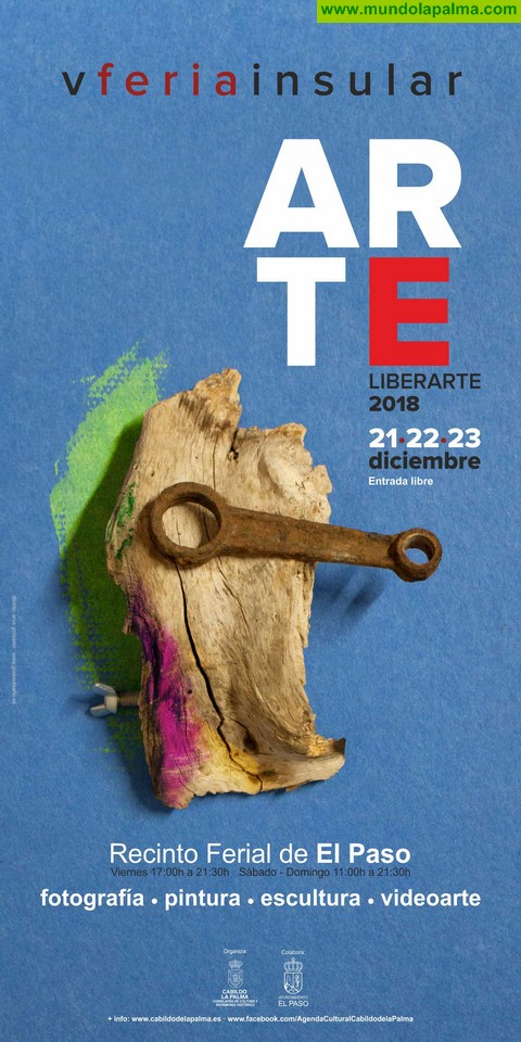 El Cabildo abre el plazo para participar en la Feria Insular 'Liberarte'
